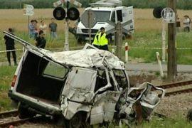 Польша: поезд протаранил автобус с украинцами