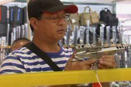 Дешевое оружие на Филиппинах теперь ещё и легально