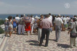 В Феодосии открыли смотровую площадку