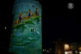 Фото олимпийцев украсили стены Виндзорского замка