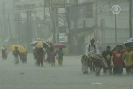 Столица Филиппин снова уходит под воду