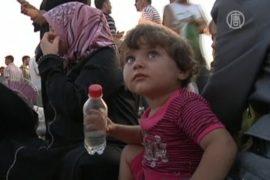 ООН: из Сирии бежало уже 150 тысяч человек
