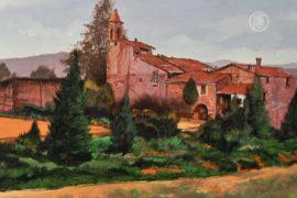 Глухие итальянские художники рисуют свою страну