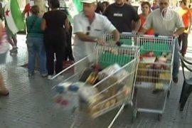 Мэр-«Робин Гуд» снова грабит супермаркеты