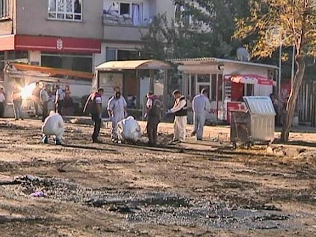 Взрыв в Турции: полиция ищет улики