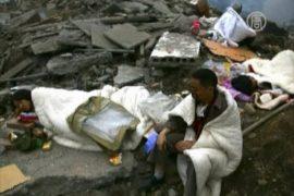 Жертвы землетрясения в Сычуань просят о помощи