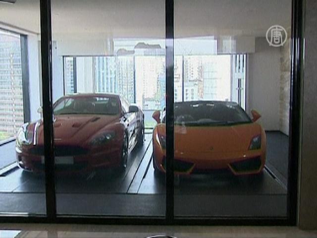 Как забрать авто в квартиру на 30-м этаже?