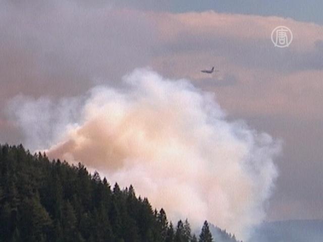 Российская авиация помогает тушить пожары в Сербии