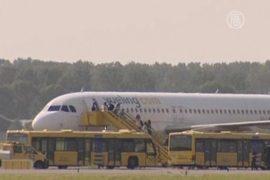 Террористов на борту самолета не оказалось