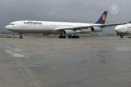 Lufthansa отменила 25% своих рейсов