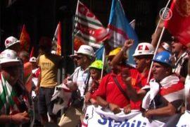 Протесты с острова Сардиния перебрались в Рим