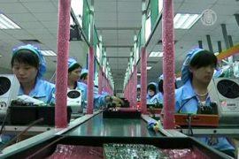 Производственная активность в Китае падает