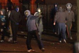 Беспорядки в Белфасте не прекращаются третий день
