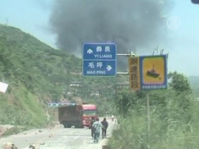 Землетрясения в Китае: не менее 50 погибших