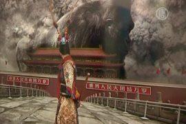 Гигантская горилла на Тяньанмэнь не прошла цензуру