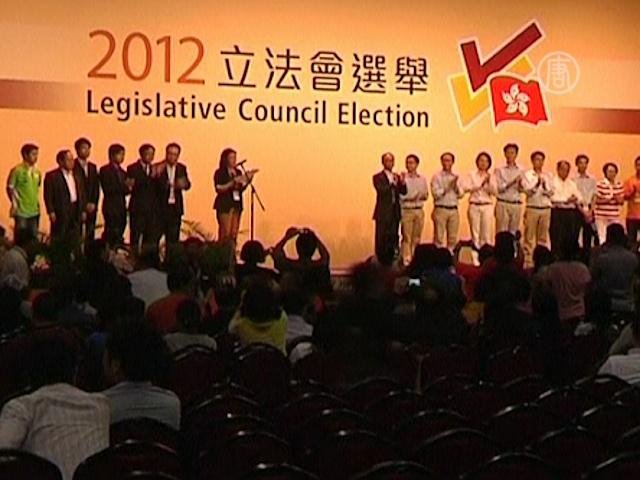 Гонконгцы выбрали меньше демократов, чем ожидалось