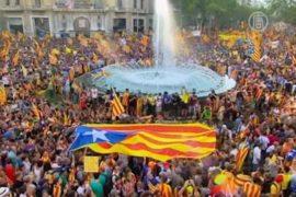 В Каталонии требуют независимости от Испании