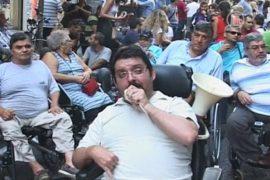 Кризис угрожает инвалидам и душевнобольным Греции