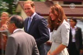 Уильям и Кейт посетили хоспис в Малайзии