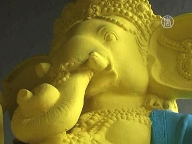 В Индии готовятся поздравлять бога мудрости