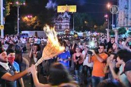 Грузия третьи сутки охвачена протестами