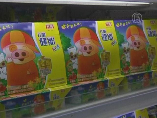 В Китае изымают из продажи детский сырный продукт