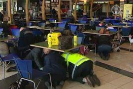 В Новой Зеландии учатся спасаться от землетрясения