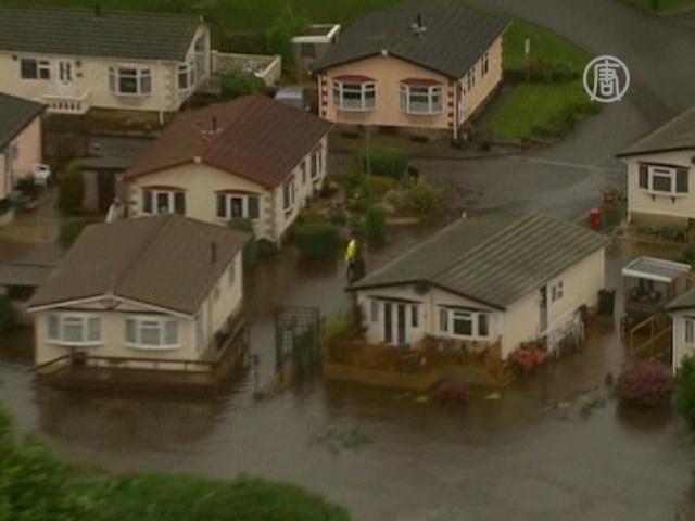 Сильнейшее наводнение в Англии