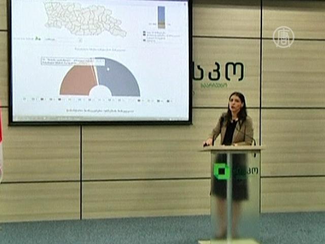 Выборы в Грузии: пока лидирует оппозиция