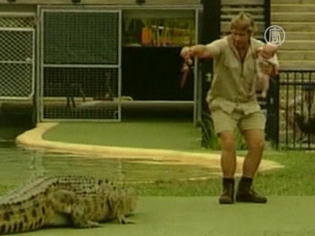 Сын «охотника за крокодилами» пошел по стопам отца