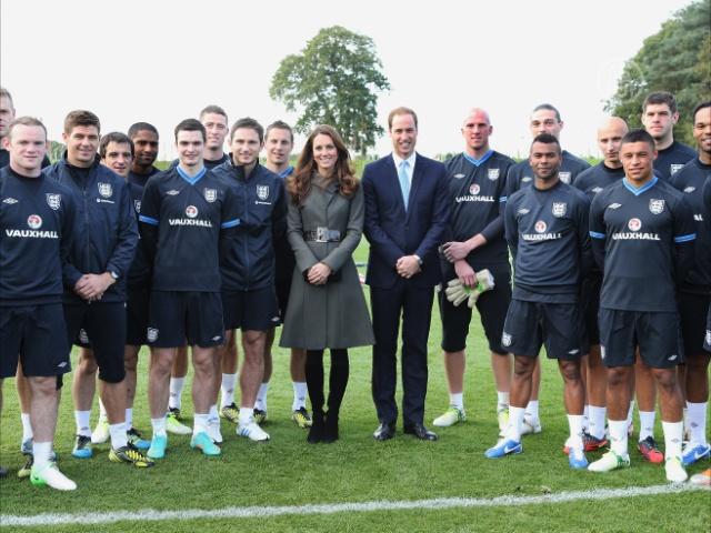 Принц Уильям открыл Национальный футбольный центр