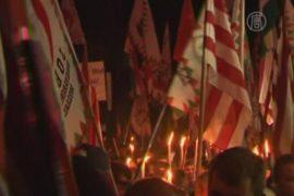 Националисты Венгрии протестуют против цыган
