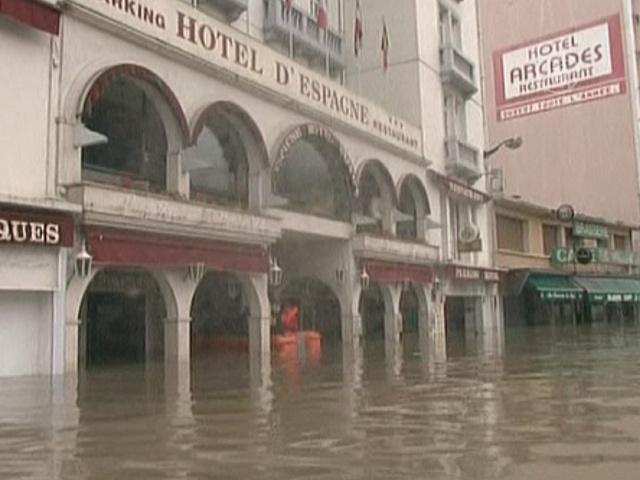 Город паломников пережил удар водной стихии