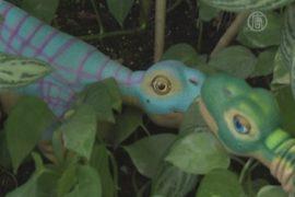Новый робот-динозавр узнаёт лица и чувства