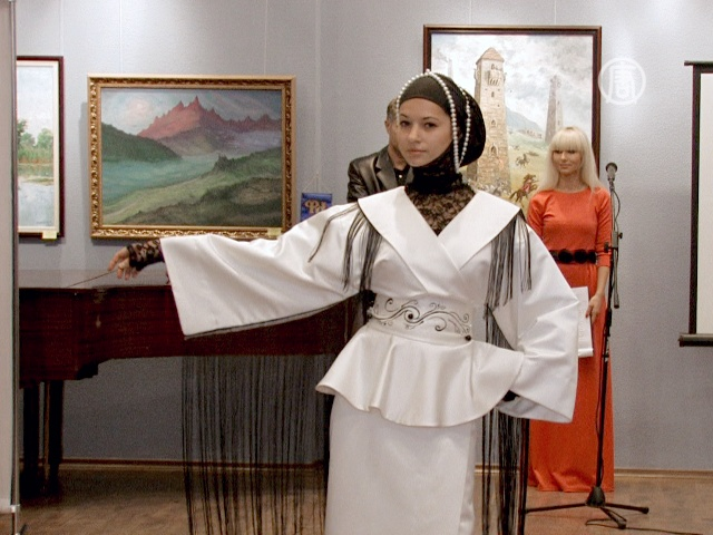 Чеченские дизайнеры представили коллекцию в Киеве