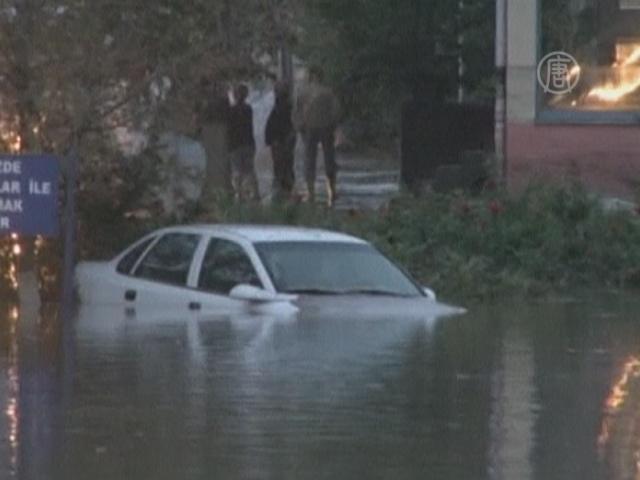 Наводнение в Турции: трое погибло