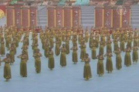 13000 человек открыли фестиваль шаолиньского ушу