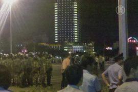Протестующих в КНР избила полиция