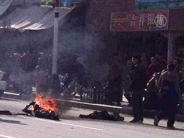 Очередное самосожжение в Тибете – третье за неделю