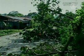 Тайфун «Сон-Тинх» достиг Вьетнама
