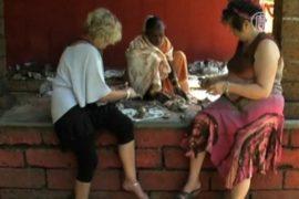 Европейцев учат рисовать индийские гравюры