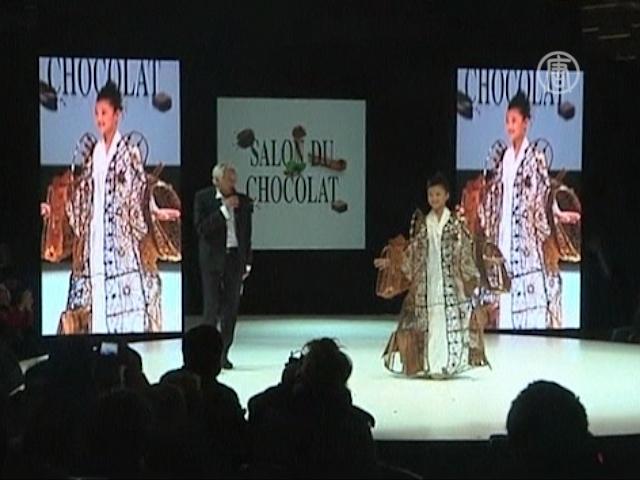 Шоколадные платья угождают модницам и сладкоежкам