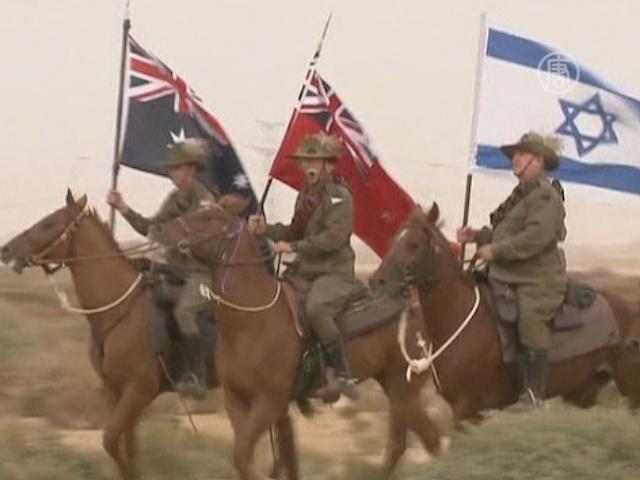 Австралийцы в дюнах Израиля воссоздали битву
