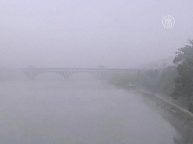 Восточный Китай окутал густой туман