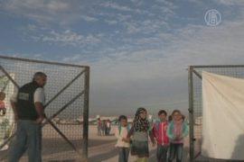 Палатки в пустыне: новая школа для сирийских детей