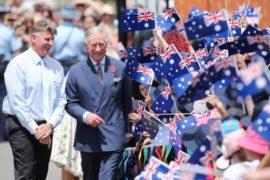 Один день королевского визита в Мельбурне