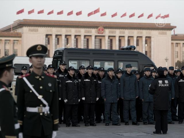 Жесткие «меры безопасности» во время съезда в КНР