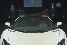 Lamborghini представила новый родстер в Сингапуре