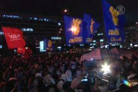 Украинская оппозиция не признает выборы
