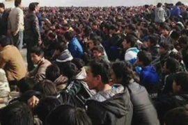 Тибет охватили протесты против китайской оккупации